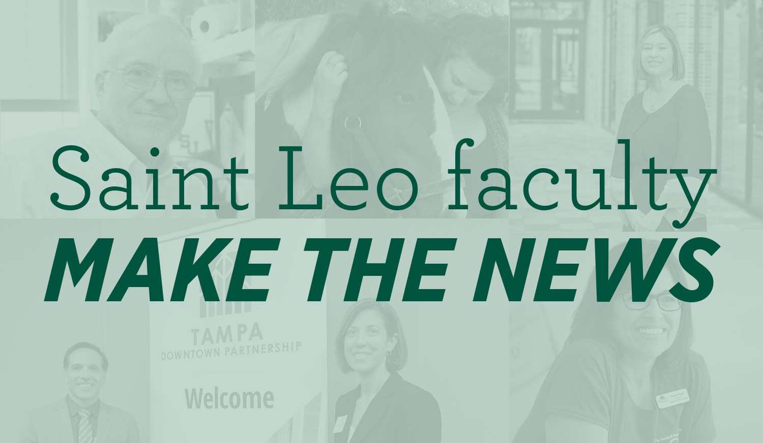 Saint Leo Faculty Make the News
