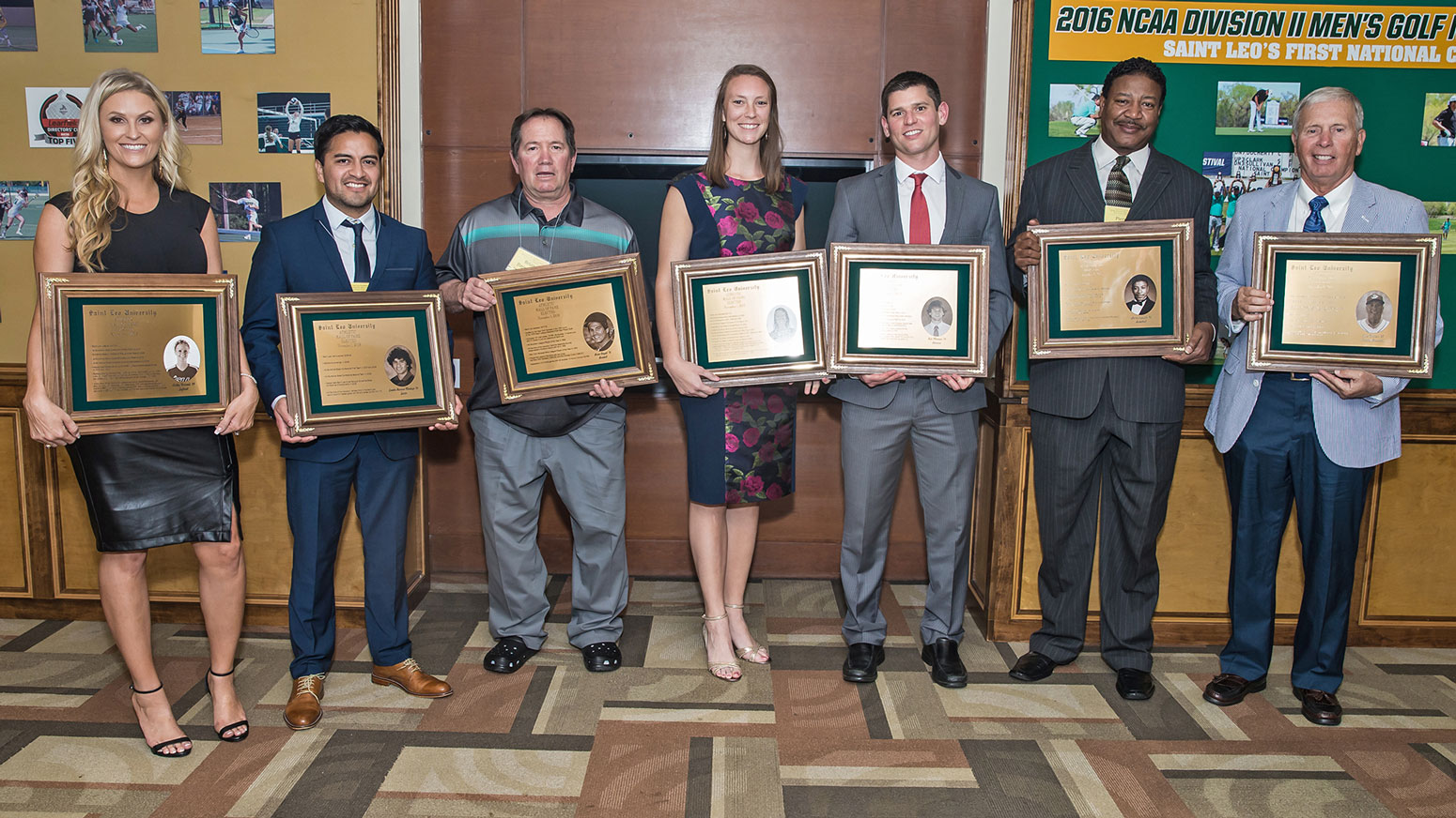 Saint Leo Inducts Seven Alumni into the Athletic Hall of Fame