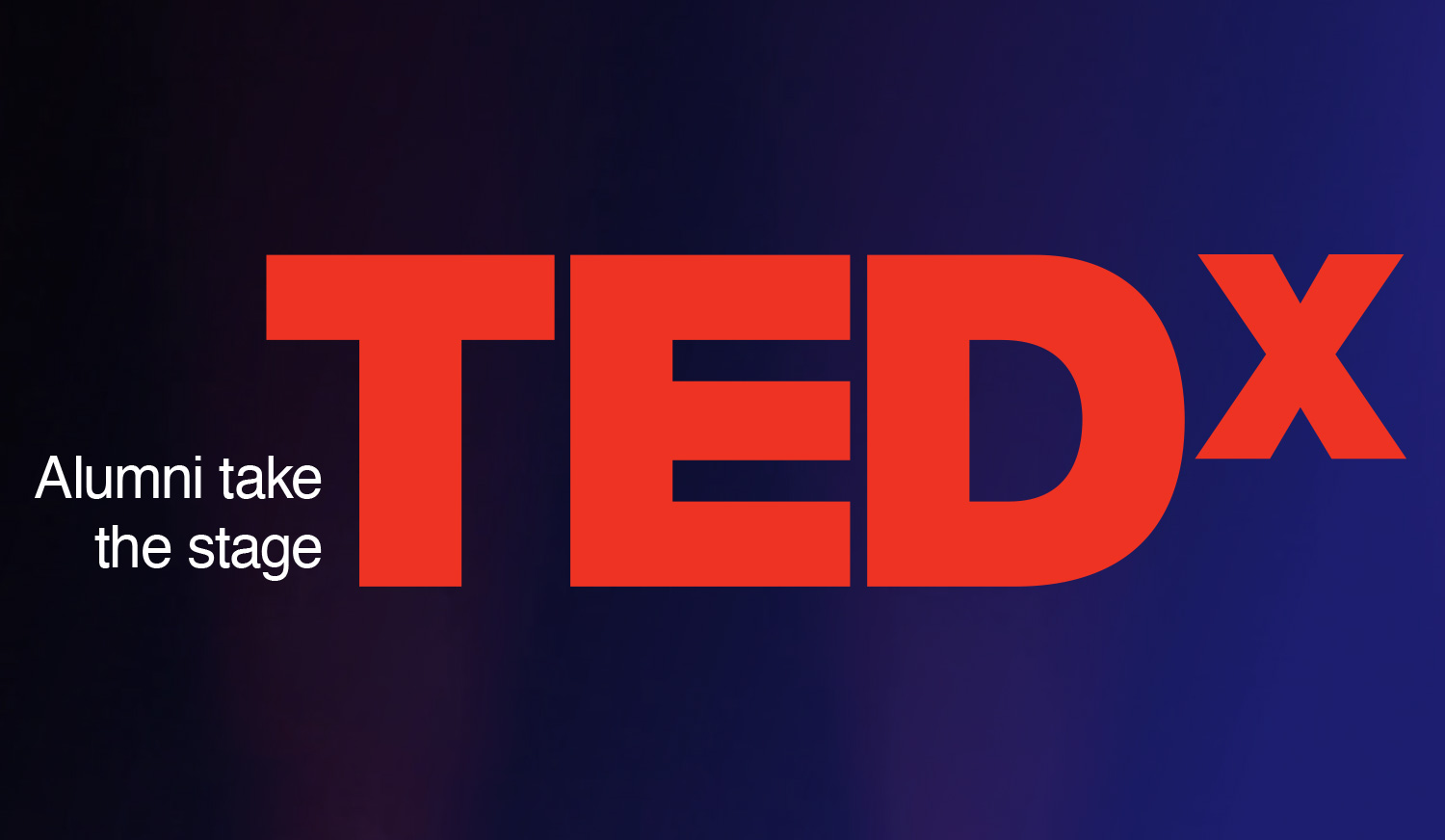 Alumni take the stage: TEDx