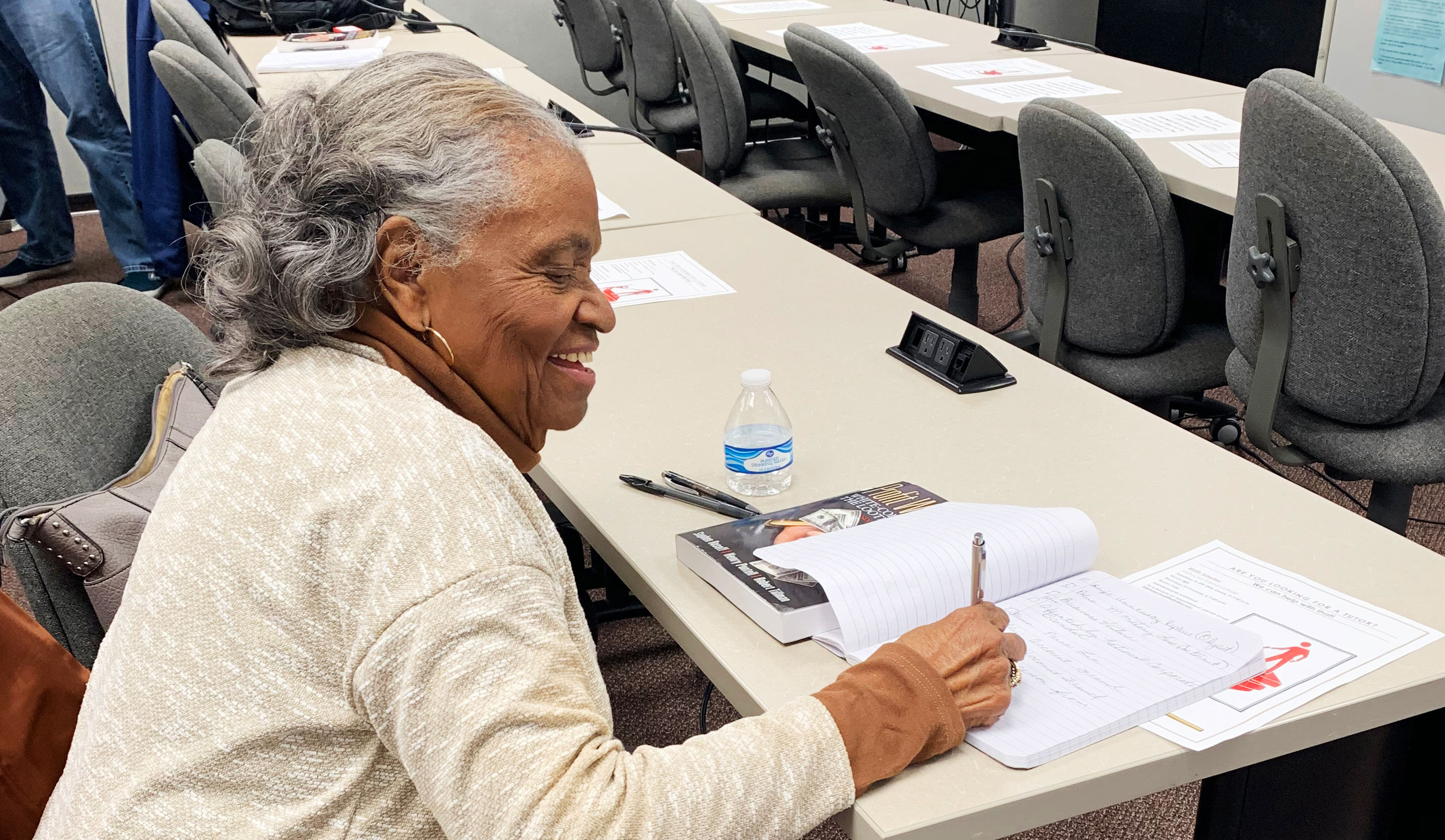 Lifelong Learning: Virginia students pursues degree at 81
