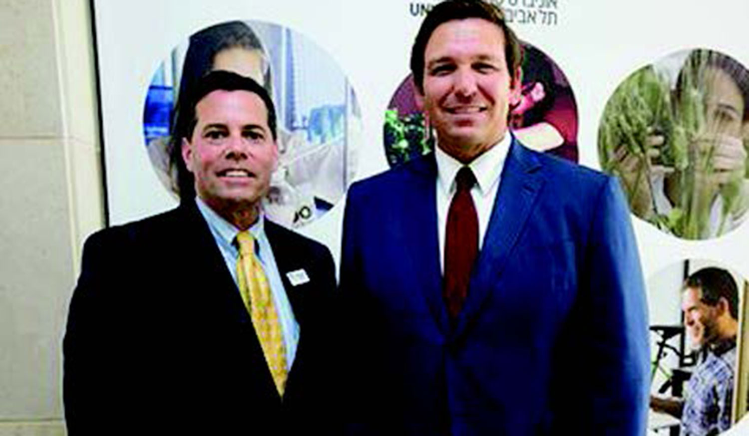 President Senese Travels to Israel with Florida Governor