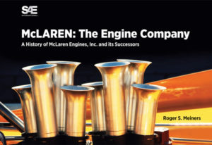 Roger Meiners '61 book, McLaren: The Engine Company