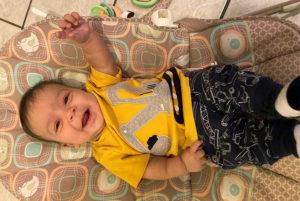 Little Lions - baby Micah Lionel Philip Dean