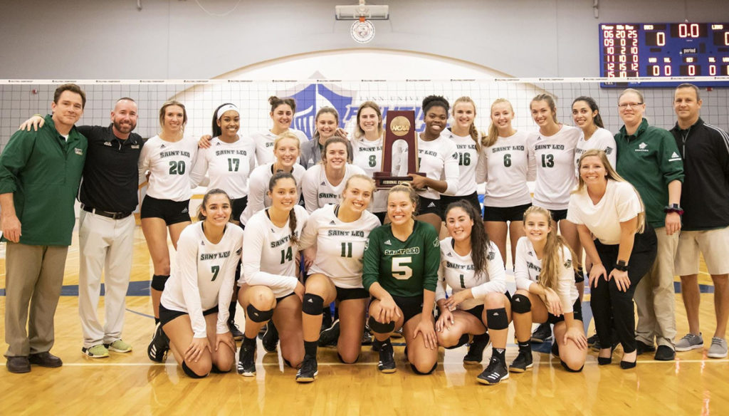 Women's Volleyball wins NCAA South Region Championship
