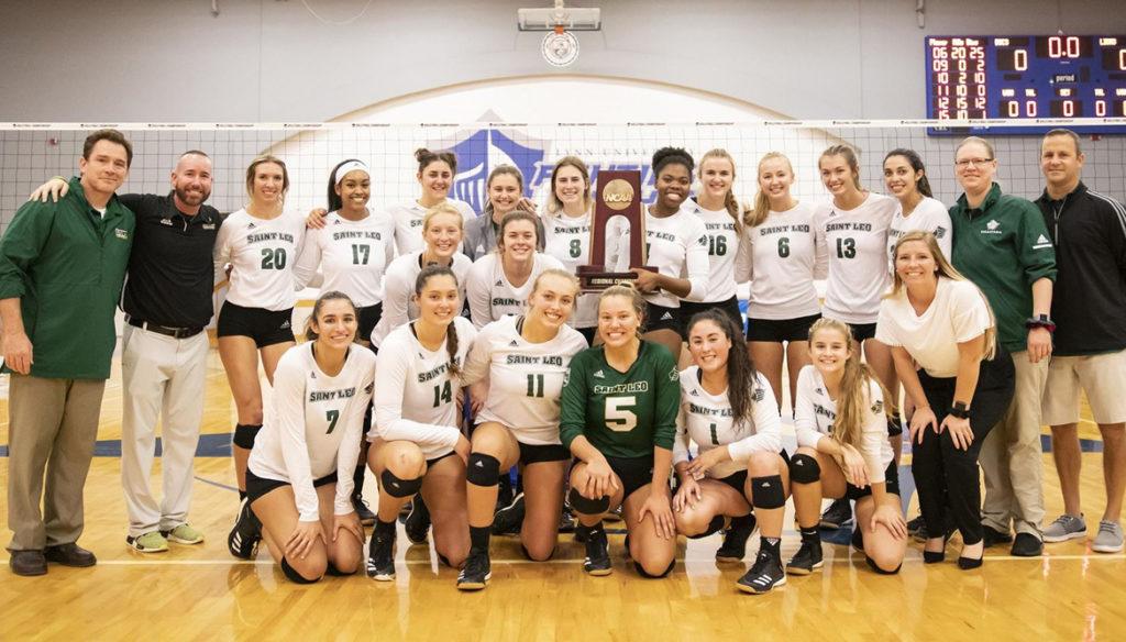 Women's Volleyball wins NCAA South Region Championship